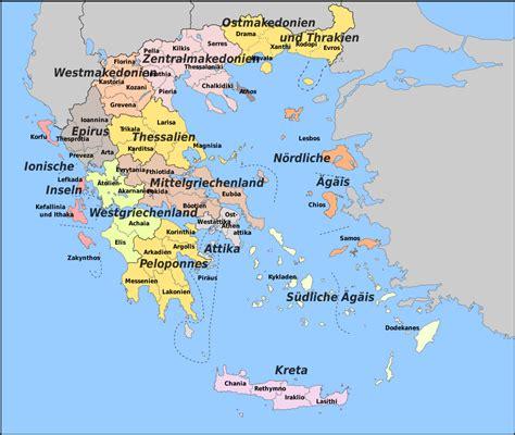 groesste griechische insel karte