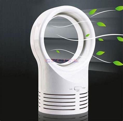 bladeless fan 6 inch mini table desk fan dc power supply