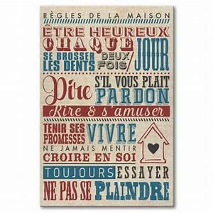 Regle De La Maison A Imprimer : tableau r gles de la maison ~ Dode.kayakingforconservation.com Idées de Décoration