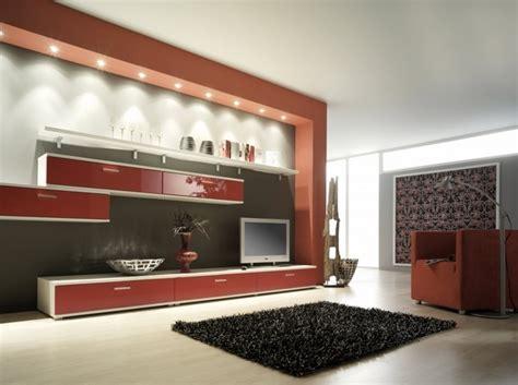 abgehängte decke beleuchtung decken dekoration wohnzimmer