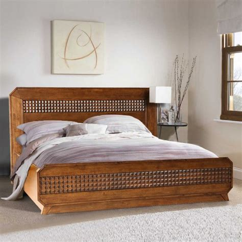 buy sterling solid wood hydraulic storage queen size bed