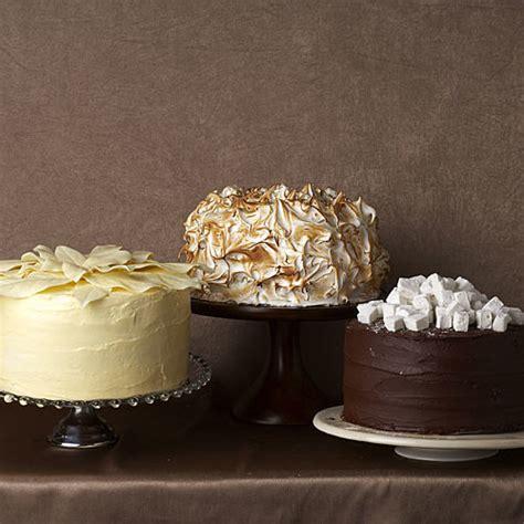 outrageous coconut cream meringue cake recipe finecooking