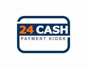 24 Cash Payment Kiosk logo design contest | Logo Arena
