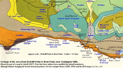 Osmington Mills To Ringstead Dorset Geological Guide By