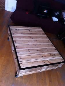 Table Basse Palettes : table basse palette instructions de montage do it yourself ~ Melissatoandfro.com Idées de Décoration