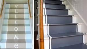 Contre Marche Deco : 10 astuces pour customiser ses escaliers escalier contre marche peinture et astuces ~ Dallasstarsshop.com Idées de Décoration