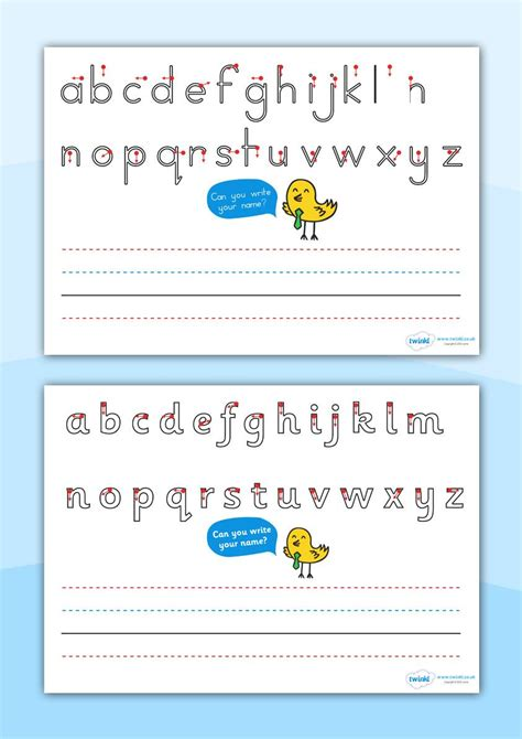 Twinkl Resources >> Name Writing Worksheets >> Printable Resources For Primary, Eyfs, Ks1 And