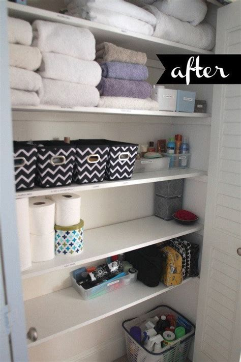 Linen Cupboard Organisation by Beautifully Organized Linen Closets Home Interior