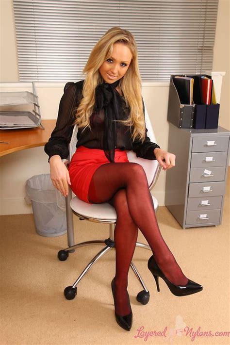 Sexy Secretary Office Secretary Fantasy Tights
