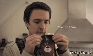 Save $1.00 on a forto coffee shot! Le Coffeee GIF - Coffee Lovecoffee Weirdface - Discover & Share GIFs