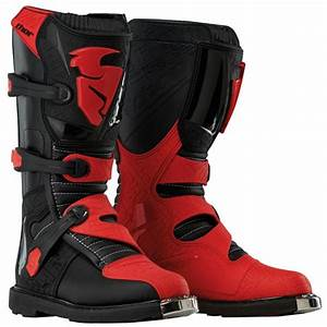 Botte Cross Enfant : bottes cross thor blitz black black red enfant au meilleur ~ Dode.kayakingforconservation.com Idées de Décoration