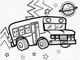 Bus Coloring Mewarnai Pages Mobil Gambar Vw Sheets Print Printable Credit Report Realistic Colorng Food Spring Transportation Balap Buku Outline sketch template