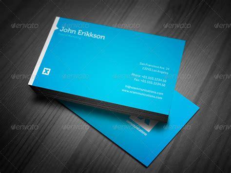 blue business card templates psd word ai