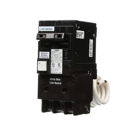 gfci circuit breaker murray 15 amp double pole type mp gt2 gfci circuit breaker us2 mp215gfap the home depot