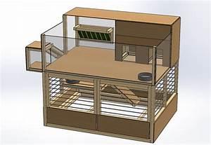 Cage A Cochon D Inde : cage duo terrasse ~ Dallasstarsshop.com Idées de Décoration