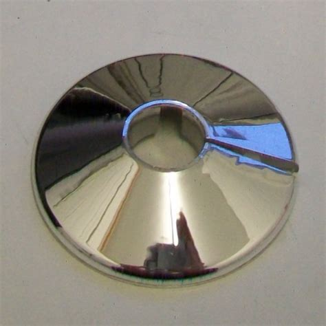 Chrome Plastic Mm Pipe Wall Flange Collar Pack