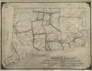 Connecticut Indian Tribes Map