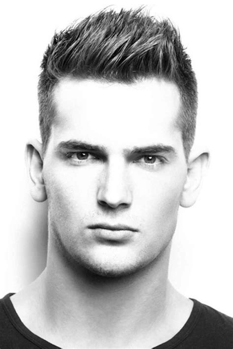 hairstyle  square face male black wavy haircut