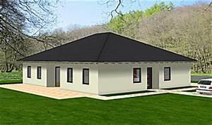 Bungalow Mit Atrium : bungalow 146 8 mit atrium einfamilienhaus neubau massivbau stein auf stein ~ Indierocktalk.com Haus und Dekorationen