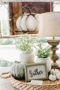 Cozy Farmhouse Fall Sunroom Sunroom, Neutral and Cozy