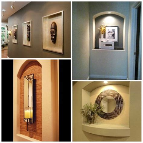 wall niche decorating ideas best 25 niche decor ideas on