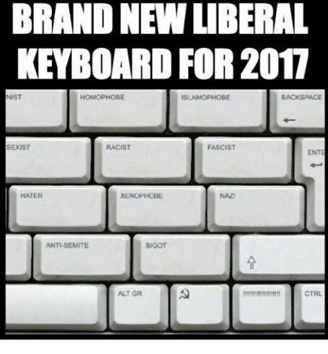 Meme Keyboard - funny liberal memes of 2017 on sizzle liberals are stupid
