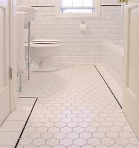 Carrelage Hexagonal Blanc : les 25 meilleures id es de la cat gorie tuile hexagonale ~ Premium-room.com Idées de Décoration