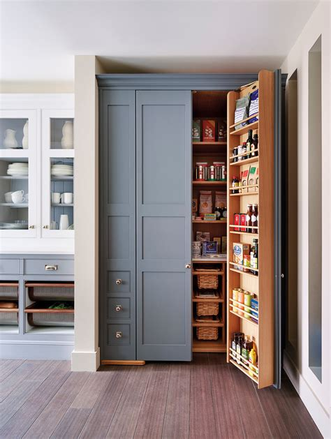 Stand Alone Pantry Cabinets Traditional Style For Kitchen