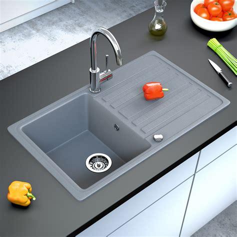 grey kitchen sink bergstroem granite kitchen built in sink reversible 1503