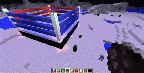 minecraft time to build ep 2 boxing ring