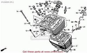 Honda Vt600c Shadow Vlx 1994 Usa Cylinder  Fr
