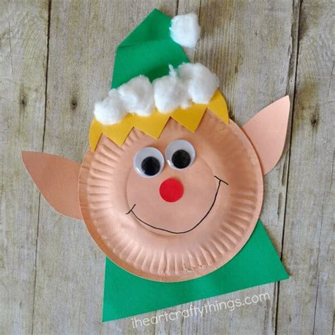 easy crafts that anyone can make happiness is - Easy Paper Plate Christmas Crafts