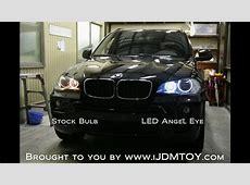 iJDMTOY BMW Angel Eyes on 2008 BMW X5 YouTube