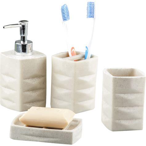 innova imports  piece bathroom accessory set reviews
