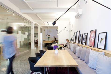 spotlight  work spaces  double  art galleries dwell