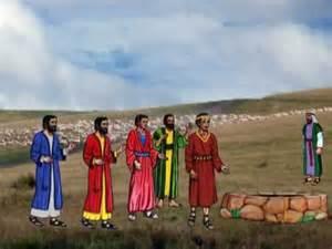 Bible Story of Joseph Sold into Slavery