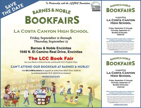 Barnes And Noble Event Calendar by Barnes Noble Bookfair 2018