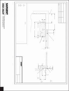 Sargent Installation Instructions For 281 Door Closers
