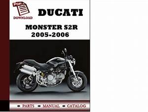 Ducati Monster S2r Parts Manual  Catalogue  2005 2006 Pdf