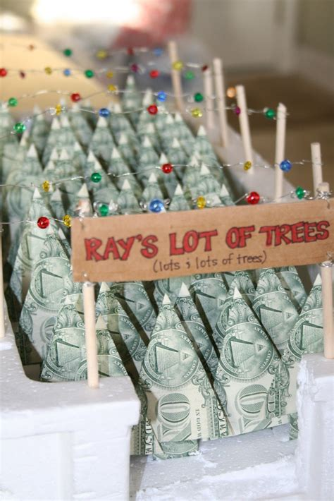 creative ways  give money   gift dollar origami