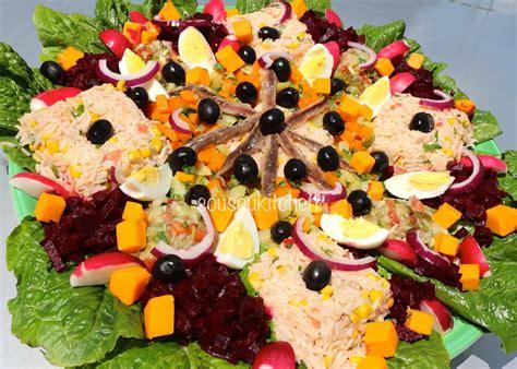 cuisine marocaine recettes salad recipe recette de salade sousoukitchen cuisine