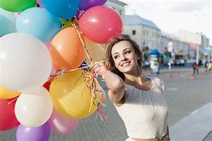 Girl, Mood, Smile, Balloon, Outdoors, 8k, Hd, Girls, 4k, Wallpapers, Images, Backgrounds, Photos, And