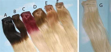 Teal Tye Dye Clip In Hair Extensions Ombre Hair Tye Dye Etsy