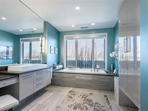 Modern Bathroom Colors 2017 by 33 Beautiful Blue Master Bathroom Ideas Photos