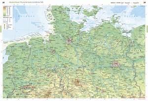 Deutschland Physische Karte : physische karte n rdlicher teil deutschland seydlitz weltatlas projekt erde ~ Watch28wear.com Haus und Dekorationen