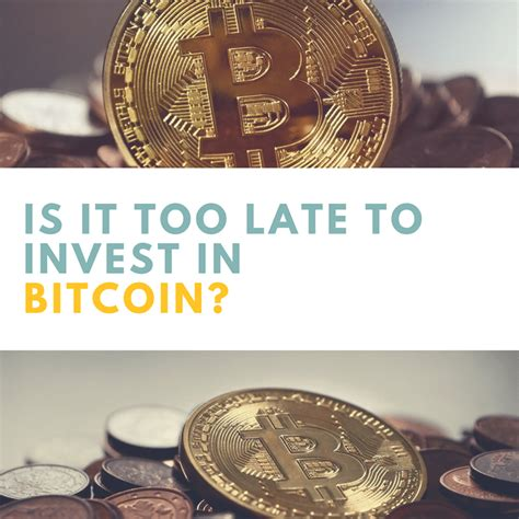 This is the time to get in… don't think, buy then think! Is it too late to invest in Bitcoin? - The Cash Diaries