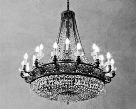 Black And White Chandelier Bedding by Black And White Photography Chandelier At The Gaudi House