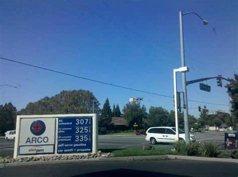 arco gas station  car wash