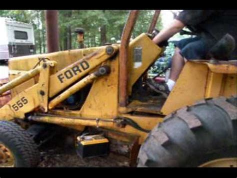 ford   backhoe  start    years part