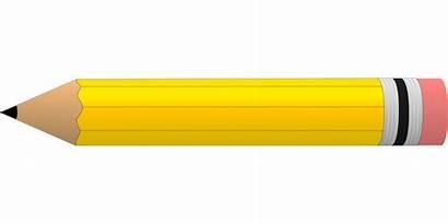 Pencil Yellow Clipart Clip Transparent Memories Giant